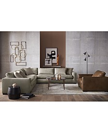 Chelby Leather Sectional Sofa Collection