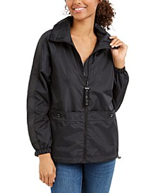 Hooded Windbreaker Water-Resistant Jacket