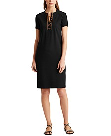 Petite Ponte Shift Dress