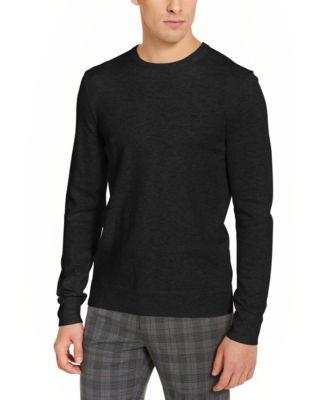 Tasso Elba Mens Sweater Purple Size 2XL Ribbed Crewneck Pullover $60 179