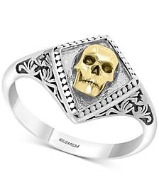 EFFY® Men's Rock n' Roll Statement Ring in Sterling Silver & 18k Gold-Plate