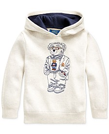 Toddler Boys Bear Cotton Hooded Sweater