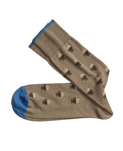 Johnston & Murphy Coffee Socks