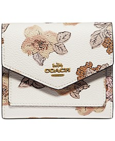 Floral Bouquet Print Wallet