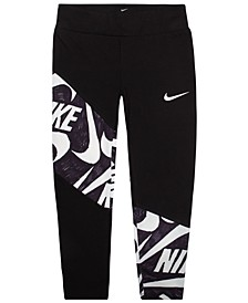 Little Girls Mash-Up Dri-FIT Leggings