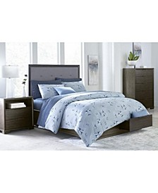 Morgan Storage Bedroom 3-Pc. Set (Queen Bed, Nightstand & Dresser), Created for Macy's