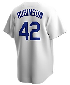 Men's Jackie Robinson Brooklyn Dodgers Coop Player Replica Jersey