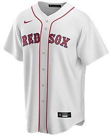 Men's Boston Red Sox Official Blank Replica Jersey