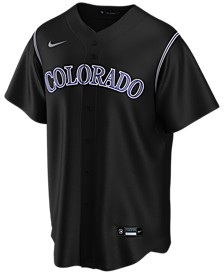 Men's Colorado Rockies Official Blank Replica Jersey