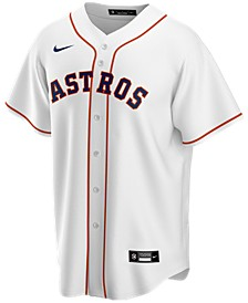 Men's Houston Astros Official Blank Replica Jersey