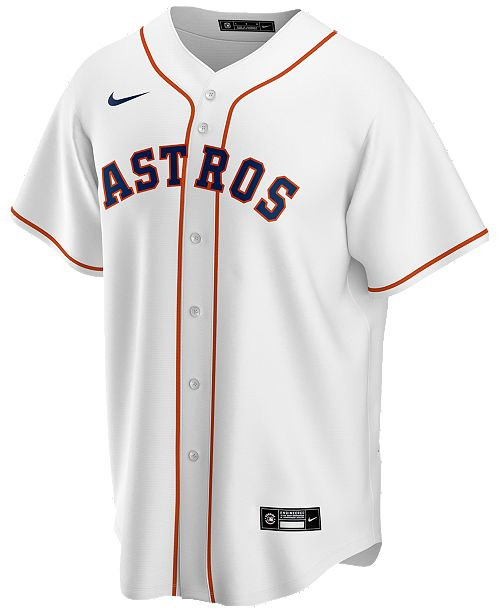 Nike Men's Houston Astros Official Blank Replica Jersey