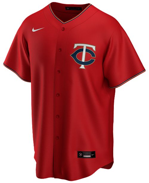 Nike Men's Minnesota Twins Official Blank Replica Jersey