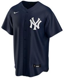 Nike Men's New York Yankees Official Blank Replica Jersey