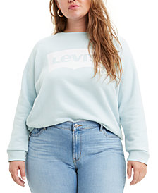 Levi's® Batwing Trendy Plus Size Logo Graphic Sweatshirt