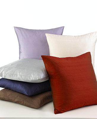 Softline Tasar Silk 20 Quot Square Decorative Pillows