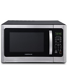Professional FMO12AHTBKE1.2 Cu. Ft. 1100-Watt Microwave Oven with Sensor Cooking, Stainless Steel/Black Body Wrap