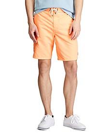 폴로 랄프로렌 Polo Ralph Lauren Mens Big & Tall Kailua Swim Trunks,Orange Splash