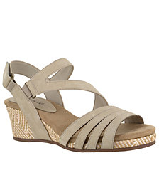 Easy Street Lee Wedge Sandals
