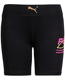 Big Girls High-Waisted Bike Shorts