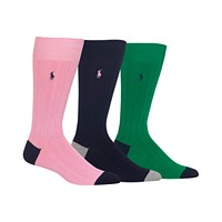 Deals on 3-Pack Polo Ralph Lauren Mens Socks