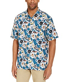 Men's Stack the Deck Silk Short Sleeve Camp Shirt