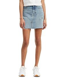 Women's Cotton Denim Mini Skirt