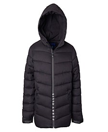 Big Boys Yarn Dye Quilted Parka