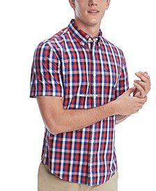 Men's Cory Check Plaid Shirt, Created for Macy's