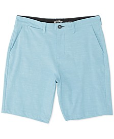 Men's New Order Heathered Hybrid Shorts