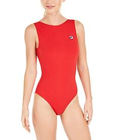 Ama Open-Back Sleeveless Bodysuit