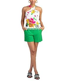 Jamaica Floral-Print Top
