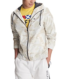 Men's Skylar Full-Zip Camouflage Windbreaker Jacket, Created for Macy's