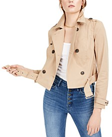 Cropped Trench Coat, Created for Macy's