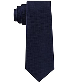 Men's Solid Basketweave Tie