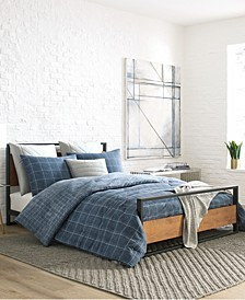 Holden Grid Comforter Set