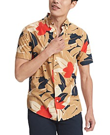Men's Scott Tropical Print Shirt, Created for Macy's