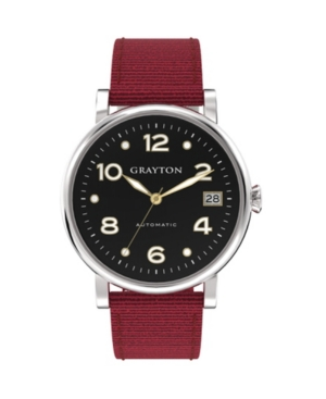 Women's Classic Collection Red Fabric Strap Watch 36mm