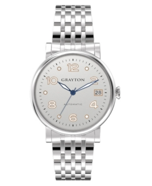 Women's Classic Collection Silver Tone Stainless Steel Bracelet Watch 36mm