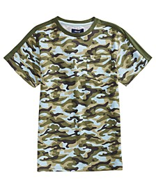 Big Boys Retreat Camo-Print T-Shirt