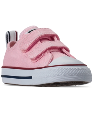 Converse TODDLER GIRLS CHUCK TAYLOR ALL STAR TWISTED OX STAY-PUT CLOSURE CASUAL SNEAKERS FROM FINISH LINE