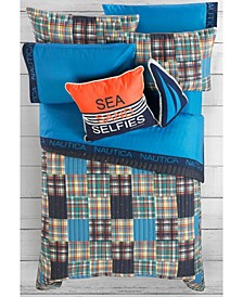 Kids Plaid Bedding Set
