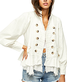 Free People Ariana Military Jacket