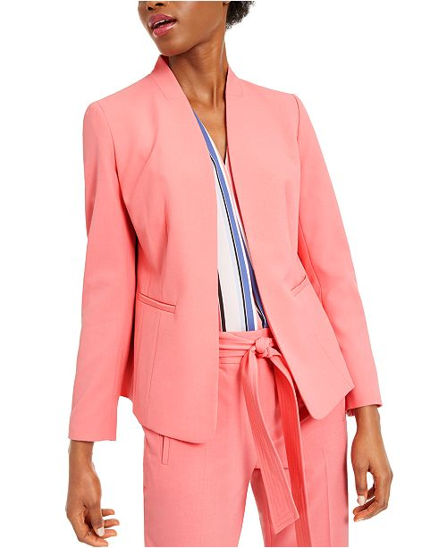 Bar III Open-Front Blazer, Created for Macy's