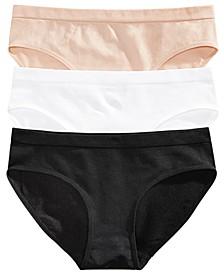 Big Girls 3-Pack Hipster Underwear