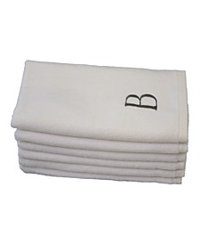 Monogram 6-Pc. Turkish Cotton Guest Towel Set
