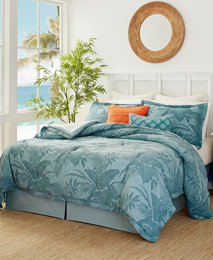 Tommy Bahama Home - Blue Abalone Queen Comforter Set