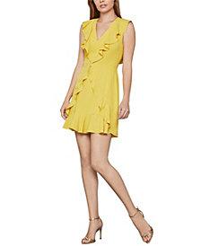 BCBGMAXAZRIA Tyrah Sleeveless Ruffle Dress
