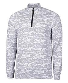 Men's Traverse Camo Print Half Zip T-Shirt