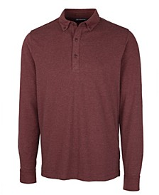 Men's Advantage Jersey Long Sleeve Polo Shirt