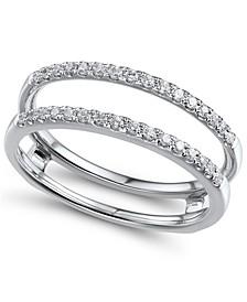 Diamond (1/4 ct. t.w.) Ring Enhancer in 14K White Gold